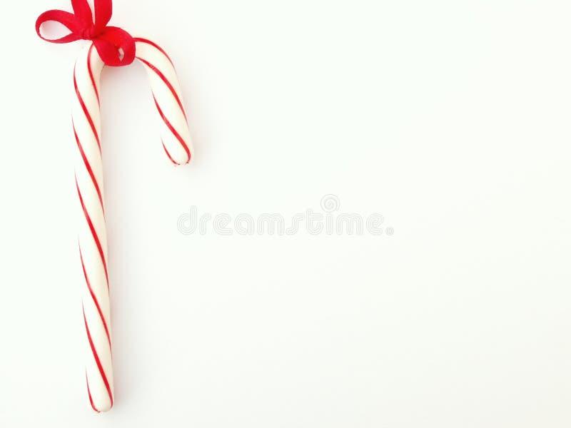 Bastón de caramelo fotografía de archivo
