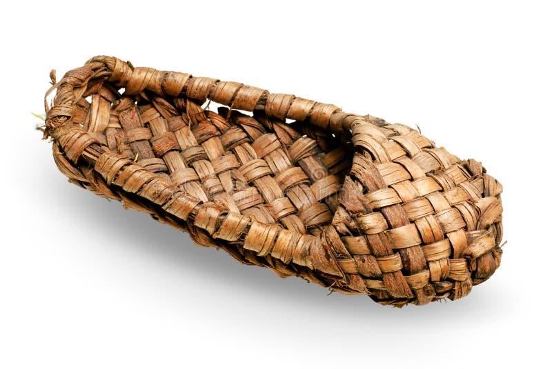 Download Bast shoe stock illustration. Illustration of retro, brown - 12359303