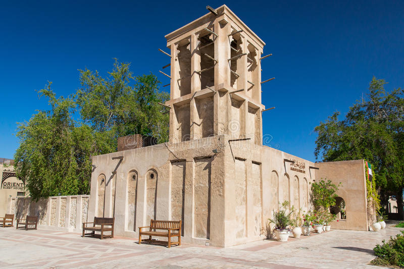 Bastakiya district in dubai editorial photo image 48619106 - The house in the old franciscan tower ...