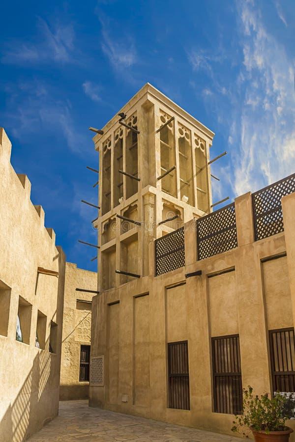 Bastakiya, Dubai velho fotos de stock royalty free