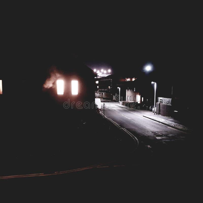 Bastante noite imagens de stock