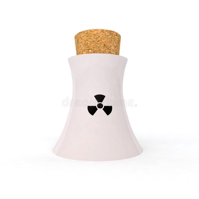 Bastantes con energía nuclear libre illustration