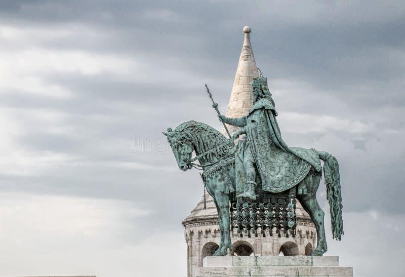 Bastião do ` s do pescador, Buda Castle, Budapest foto de stock royalty free
