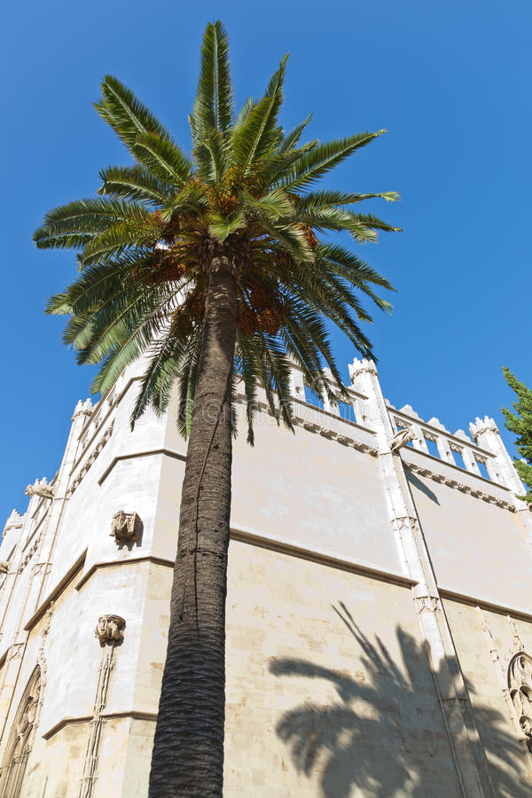Bastião velho de Sant Pere em Palma fotos de stock royalty free