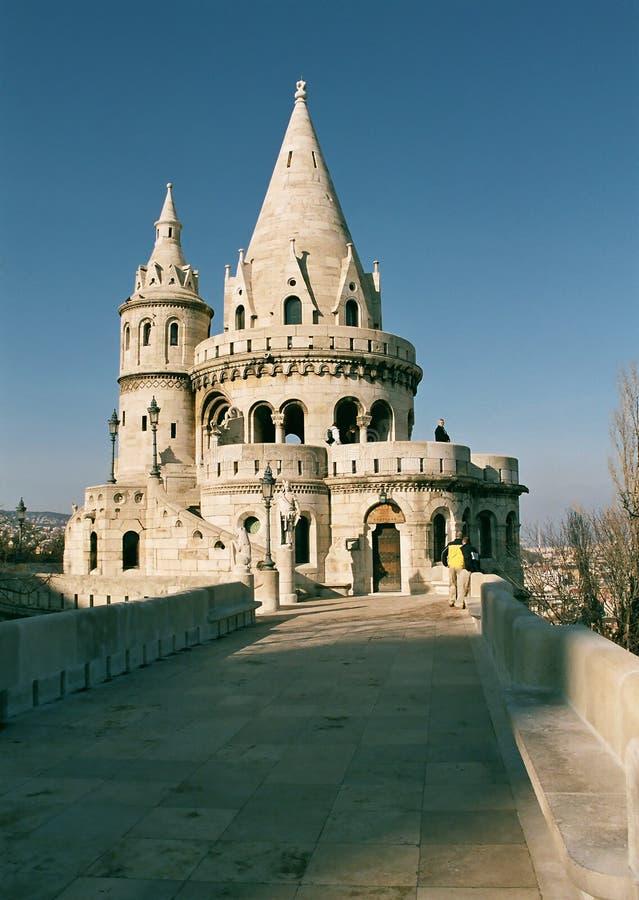 Bastión del pescador, Budapest imagen de archivo