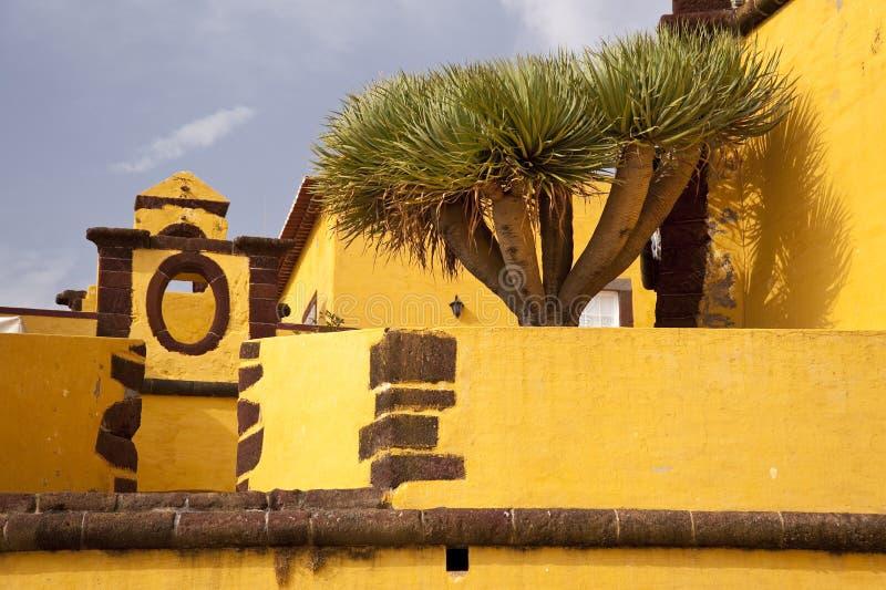 Bastión en Madeira fotografía de archivo