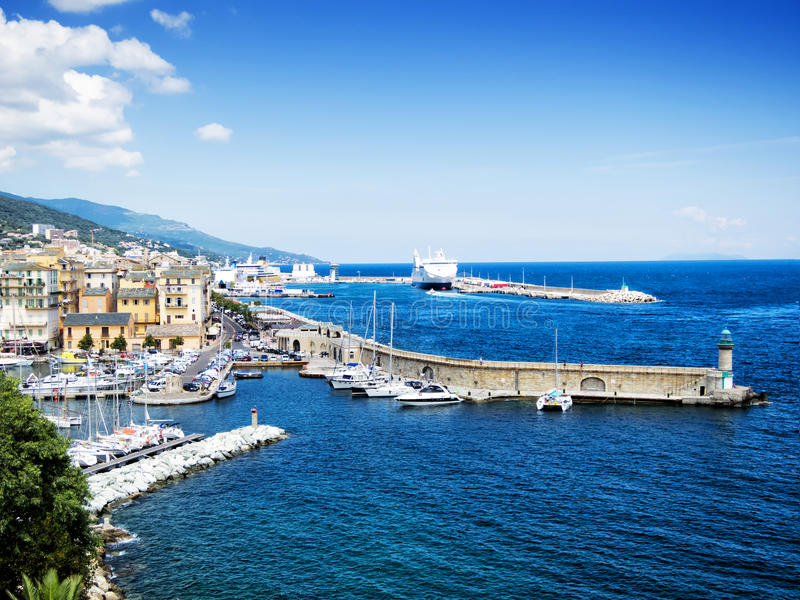 Bastia, Корсика стоковые фото