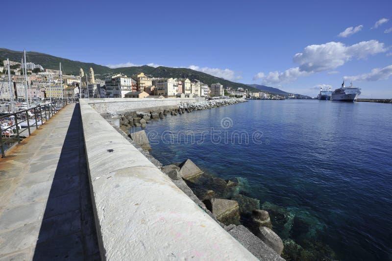 Bastia stockfotografie