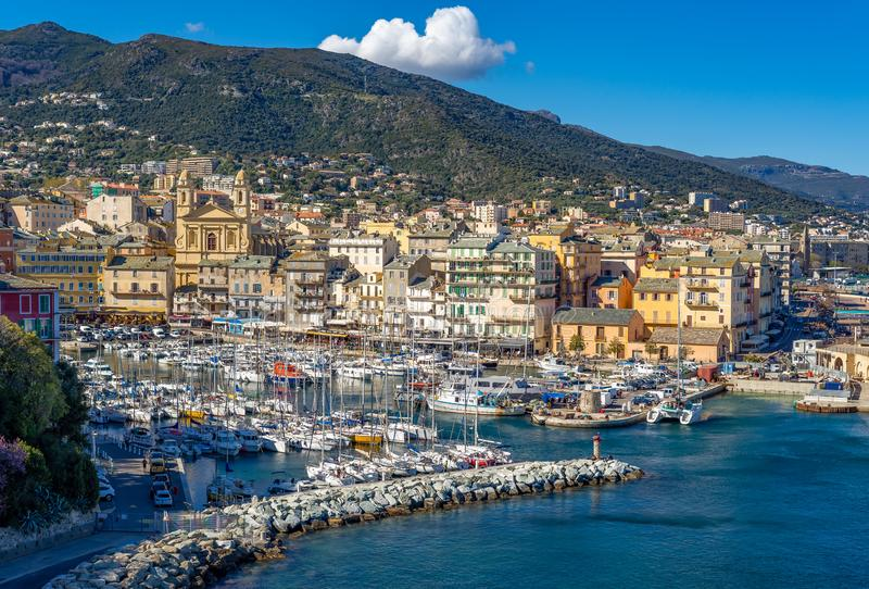Bastia lizenzfreie stockbilder