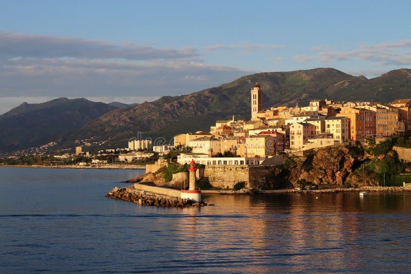 Bastia em Córsega França imagem de stock royalty free