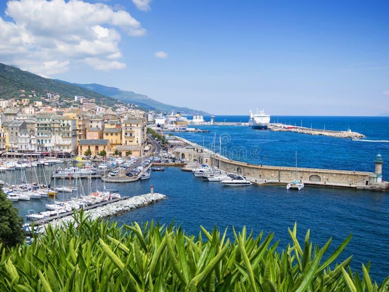 Bastia, Korsika stockfotografie