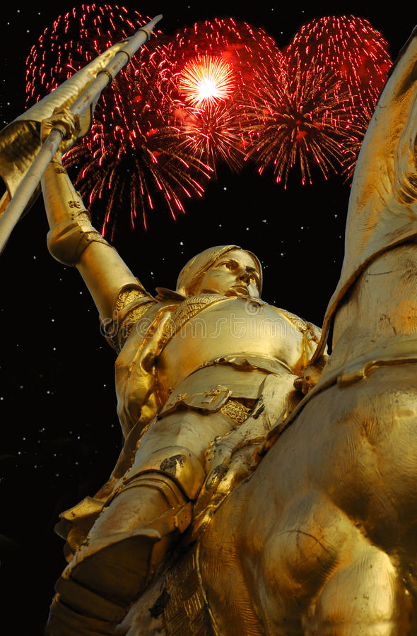 Bastille Day - Joan Of Arc Royalty Free Stock Images