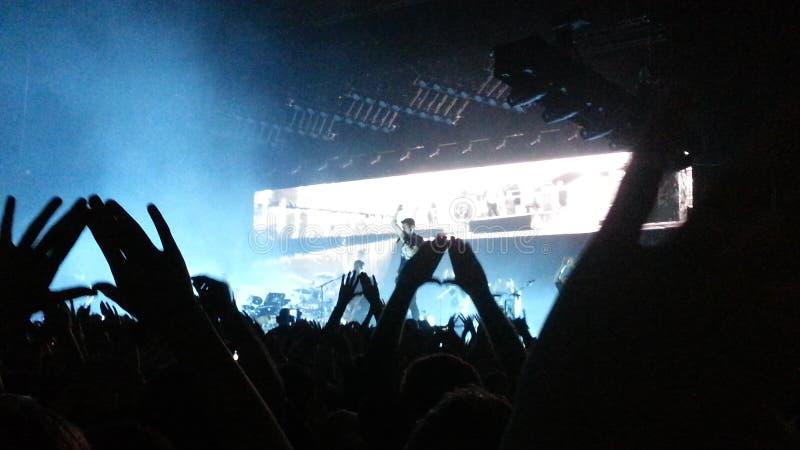 Bastille koncert zdjęcia royalty free