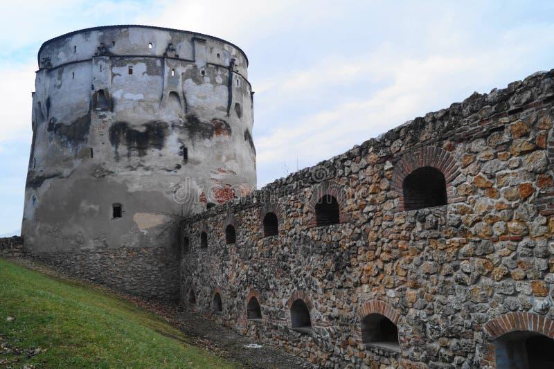 Bastion Bastionul Postăvarilor, Brasov, Roumanie de Drapers photographie stock