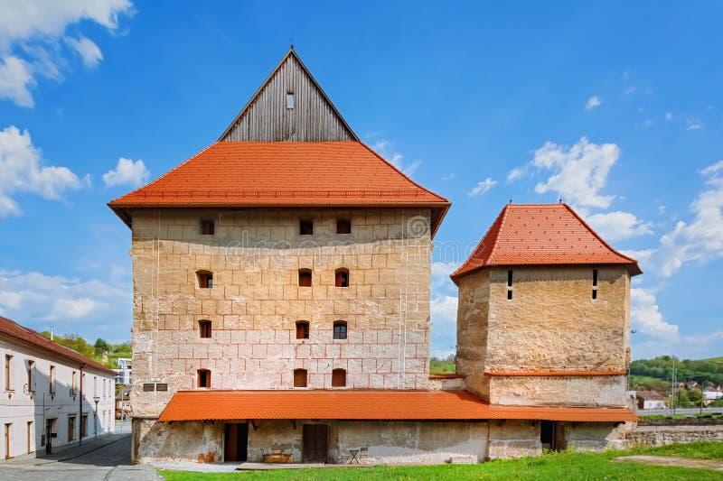 Bastion brute dans Bardejov image libre de droits