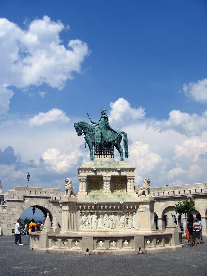 Bastion des Fischers - Budapest, Ungarn lizenzfreie stockfotografie