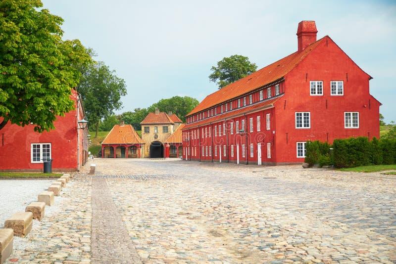 Bastion du prince, Bastion des princesses et Gat de la Norvège image libre de droits