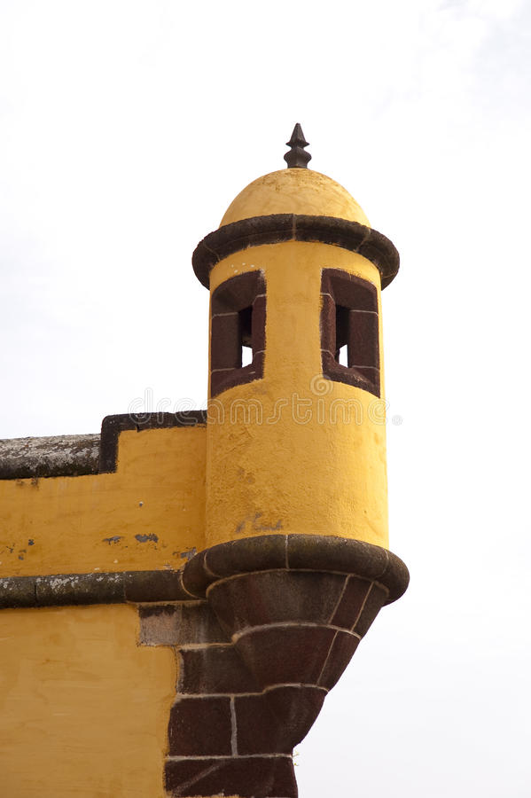 Bastion na Madeira fotografia stock