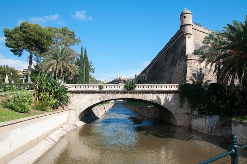 Bastion Sant Pere lizenzfreie stockfotografie