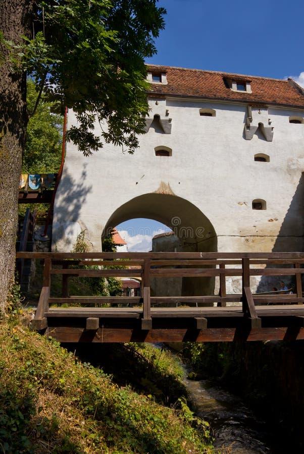 Bastione Dell Innesto - Brasov Fotografie Stock