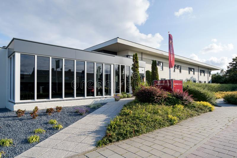 Bastionhotel in Oegstgeest, Nederland royalty-vrije stock fotografie