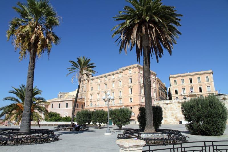 Bastions-Heiliges Remy, Cagliari, Sardegna-Insel, Italien lizenzfreie stockfotografie
