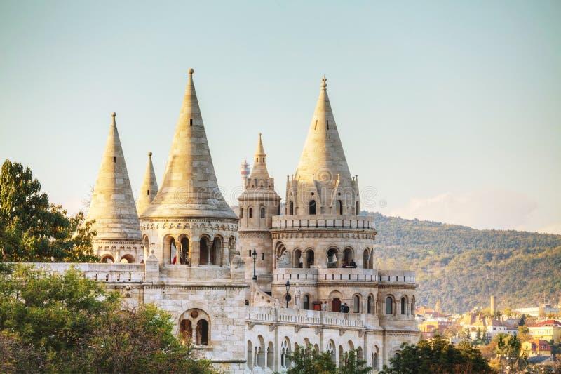 bastionu Budapest rybak Hungary obraz royalty free