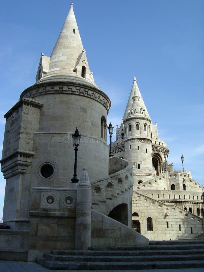 bastionu rybaka. obrazy royalty free