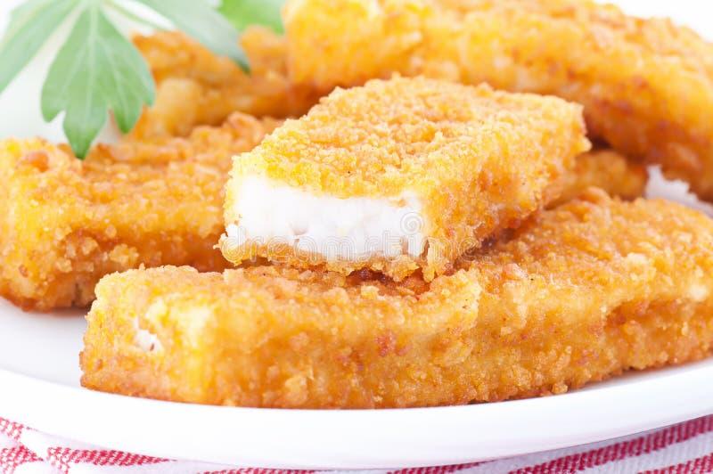 Bastoncini di pesci immagini stock libere da diritti