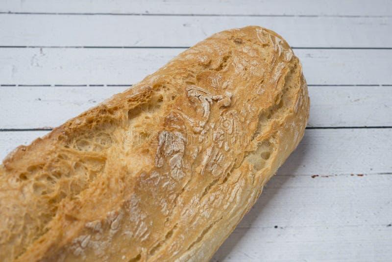 Bastone bianco del pane integrale fotografia stock