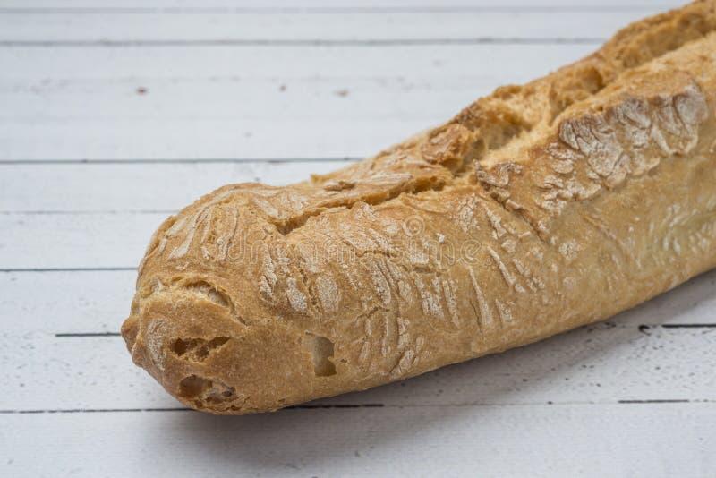 Bastone bianco del pane integrale immagine stock libera da diritti