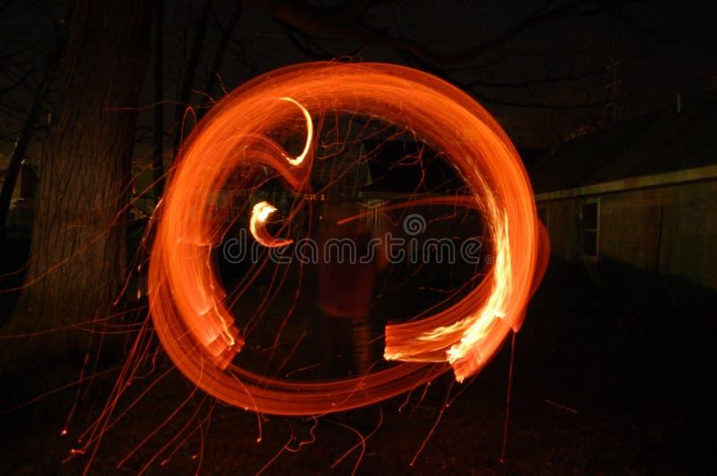 Bastone del fuoco fotografia stock