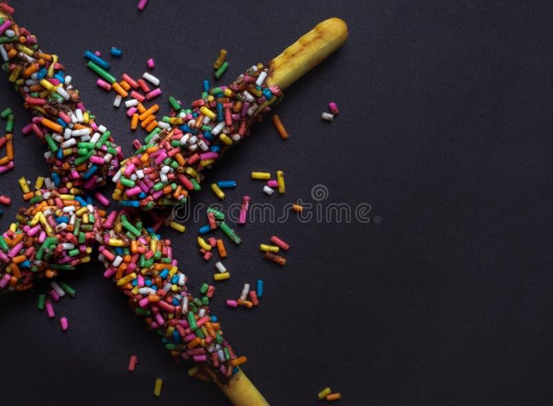 Bastone del pane al cioccolato immagine stock libera da diritti