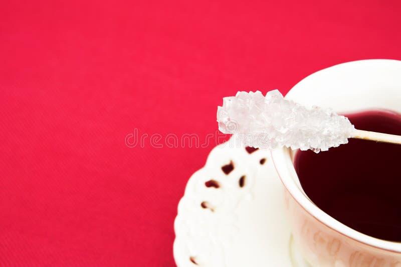 Bastone dello zucchero di Swizzle immagini stock libere da diritti