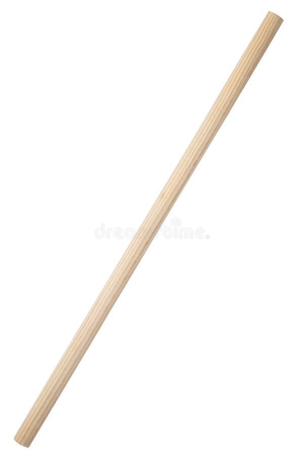 Bastone di legno fotografia stock