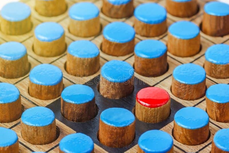 Bastone di legno differente - Otello immagini stock libere da diritti