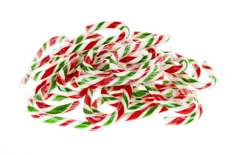 Bastones de caramelo imágenes de archivo libres de regalías