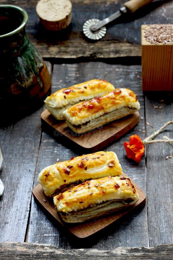 Bastoni con formaggio fotografie stock