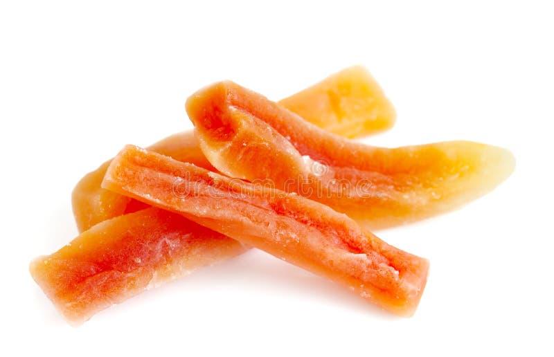 Bastoni della papaia immagini stock
