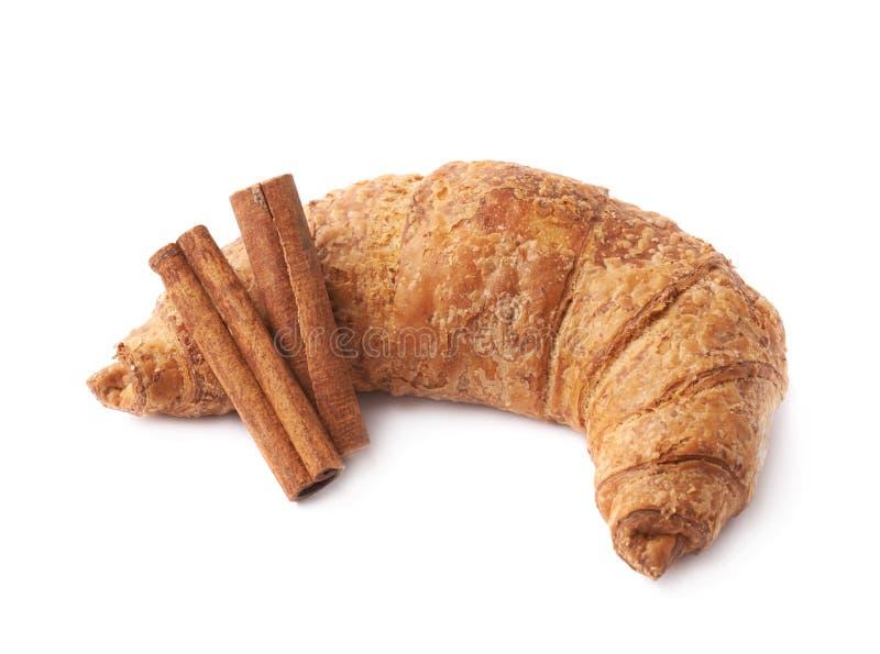 Download Bastoni Della Pasticceria E Di Cannella Del Croissant Immagine Stock - Immagine di dorato, caffè: 55350069