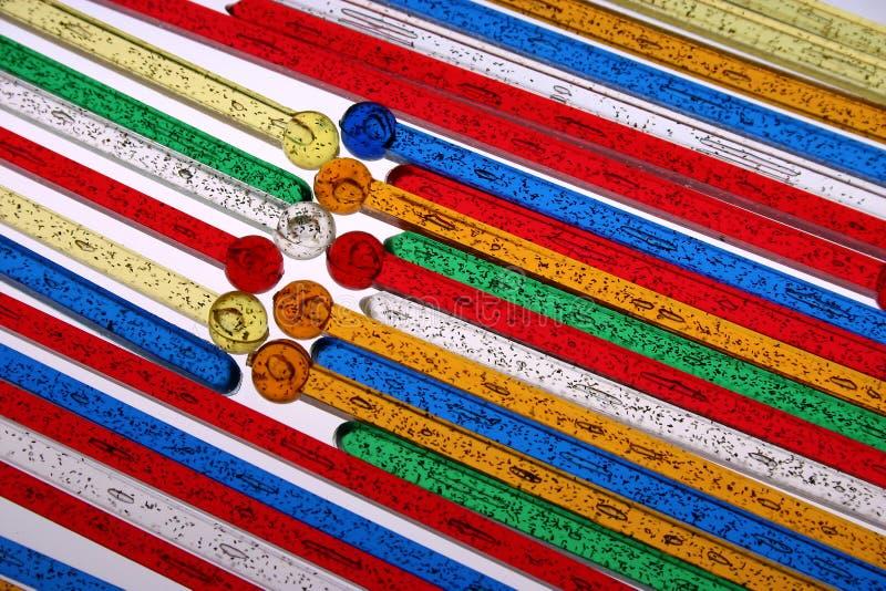 Bastoni di Swizzle immagine stock libera da diritti