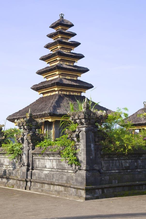 basukian pura besakih του Μπαλί jagat puseh στοκ φωτογραφίες