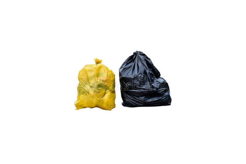 Basura del bolso de basura foto de archivo
