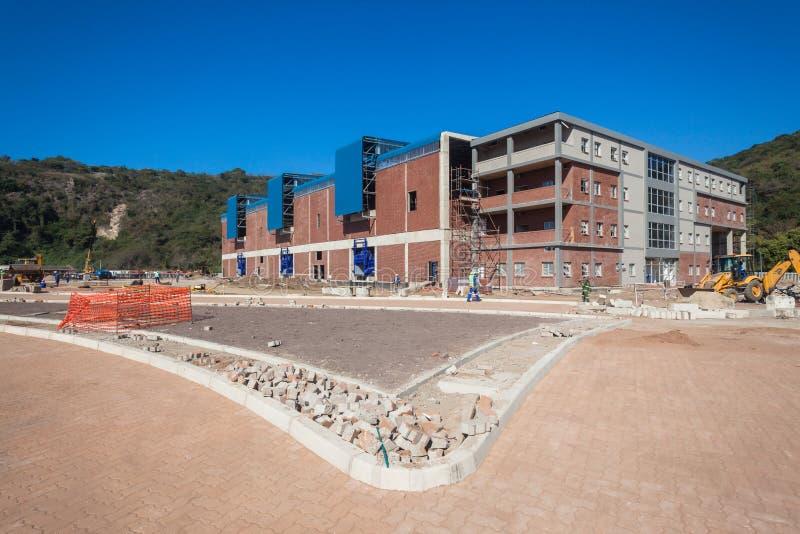 Basura sólida de Durban de la construcción de edificios imagen de archivo
