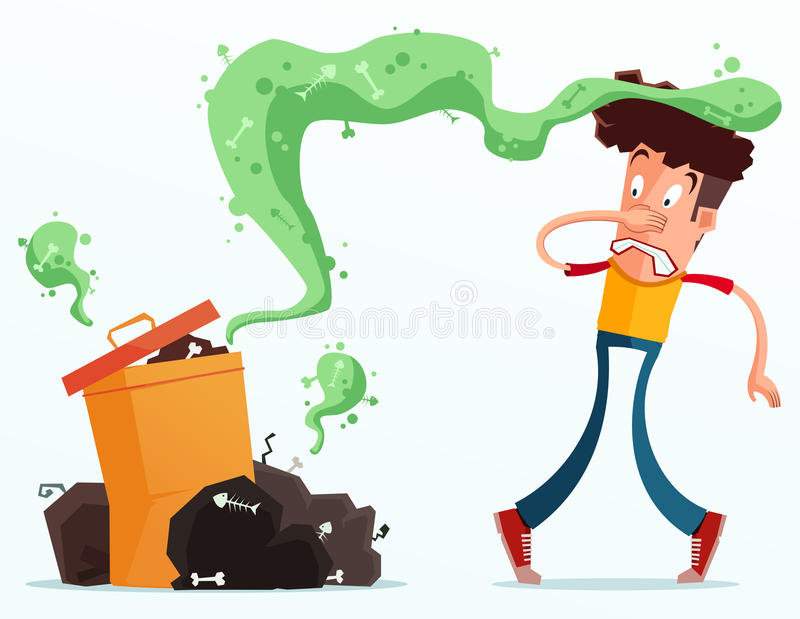 Basura Stinky libre illustration