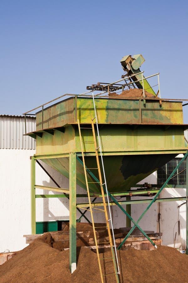 Basura verde oliva del molino: Orujo imágenes de archivo libres de regalías
