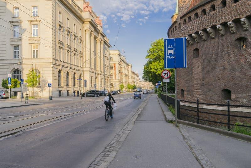 Basztowa gata fotografering för bildbyråer