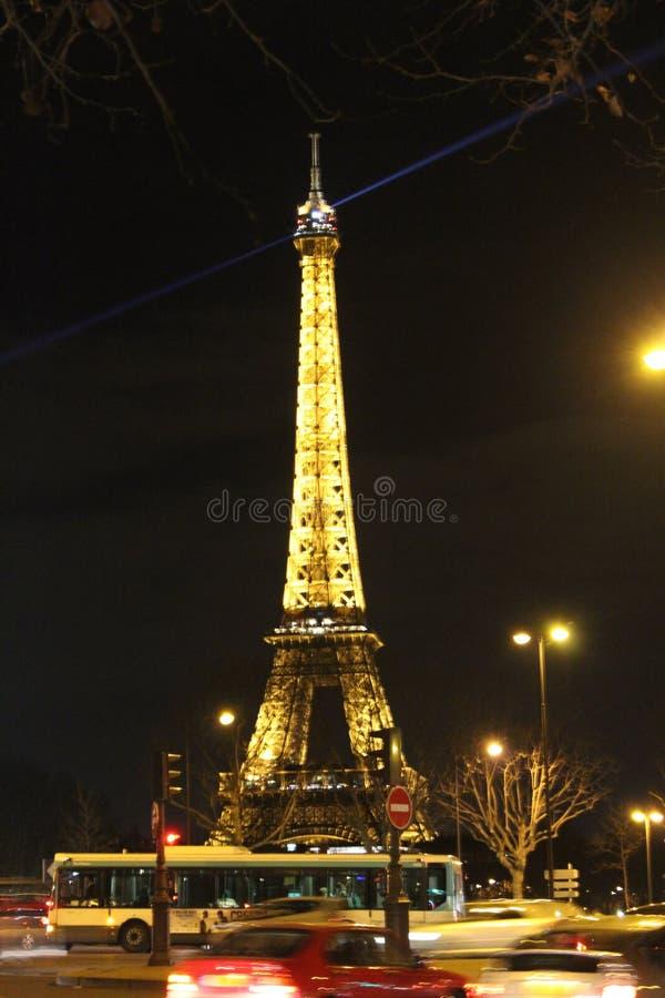 Basztowy Eiffel zdjęcie royalty free