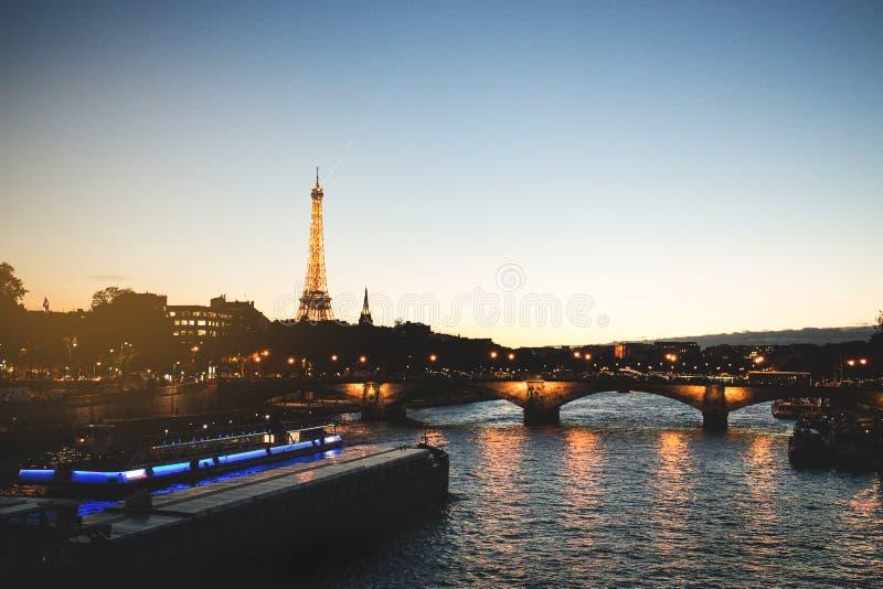 Basztowy Eiffel fotografia royalty free