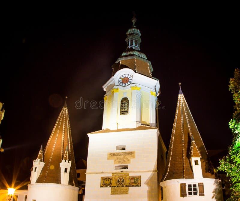 Basztowy Krems Austria obraz stock